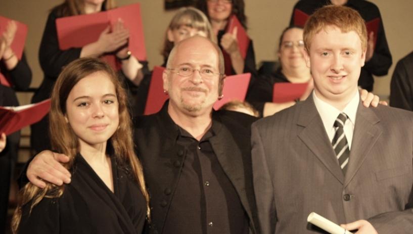 2013-Mikayla Jensen-Large - Voice<br>Braydan Pelley - Trombone