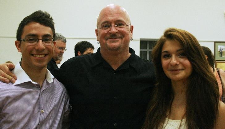 2011 - Nicolas Galuban - Clarinet<br>Dalia Al-Khajafy - Flute